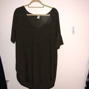 Old Navy XL Olive tunic